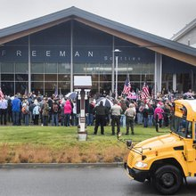 Beyond sincere assistance, school shootings attract profiteers, would-be saviors and so-called ex...