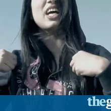 Afghanistan's first female rapper: 'If I stay silent, nothing will change'