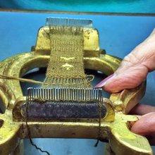 The last surviving sea silk seamstress
