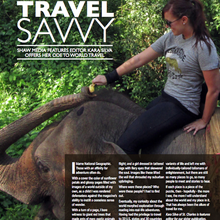 Travel Savvy: Shaw Media features editor offers her ode to world travel