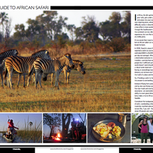 Seven-page spread in KC Magazine's August travel issue