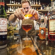 The friendly bartender is back; buh-bye to the leather-aproned hipster