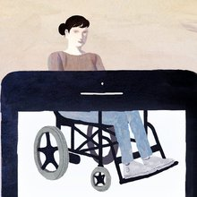 Opinion | Playing the Online Dating Game, in a Wheelchair