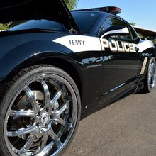 Tempe Police's customized Camaro turns heads