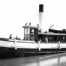 The Mystery of the Mary Ann: survey of sunken tug raises new questions