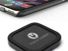 Charge Your iPhone Wirelessly New #TouchCharge