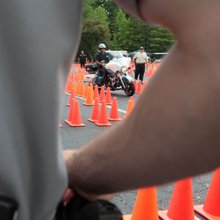 Motorcycle officers share skills, compete
