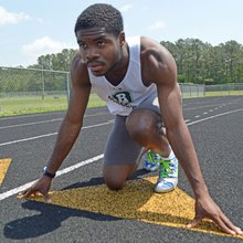Grandma's guidance helped Richard Bland athlete reach goals