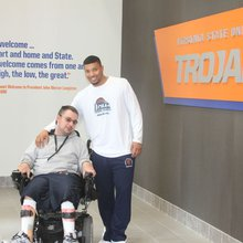 Virginia State's Javon Moore draws inspiration from best friend