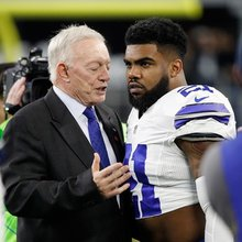 Dallas Cowboys RB Ezekiel Elliott suspended for 6 regular season games