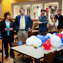 2 Professors, 1 House Seat-and a Campus Thrust Into the Limelight