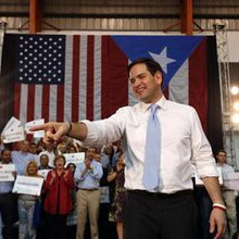 On Marco Rubio's end: Requiem for a lightweight