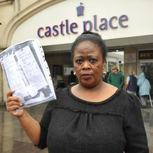 Trader locked out after stall rent battle