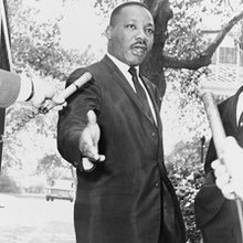 Dr. Martin Luther King: Healing Words in Troubled Times