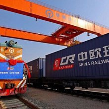 All aboard the China-to-London freight train