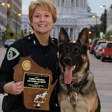 The Inspiring Story of a Police Officer and Her K-9 Partner