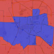 See how Denton County residents voted in 2008