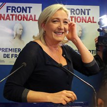 French Front National Party's European Victory Signals Rise of the Far Right