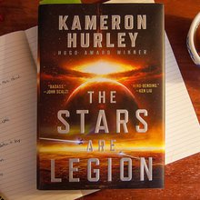 The Stars Are Legion is a bold science fiction novel about warring women at the edge of the unive...