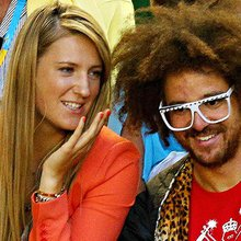 Redfoo of LMFAO talks tennis, Azarenka