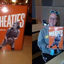 Girl with terminal cancer gets her own Wheaties box