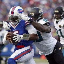 Bills sing praises of Jaguars' dominant defense ahead of AFC wild-card clash