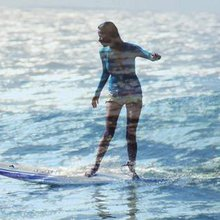 Meet India's first and only female surfer