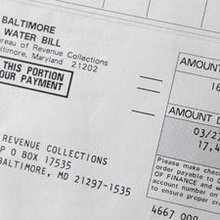 A steady stream of water billing headaches