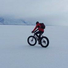 Utah man sets a world record biking to the South Pole