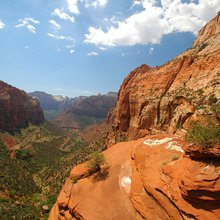 Hike with a View - Canyon Overlook Trail in Zion National Park