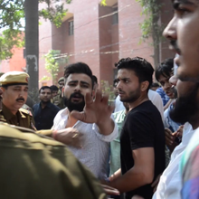 ABVP Students' Violence at Ramjas College