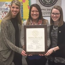 Honor Society Offers New Opportunity to Education Students