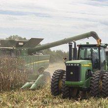Neighbors help fellow farmers during harvest time