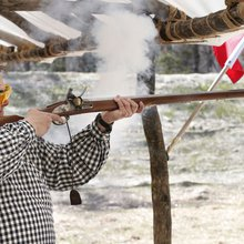 Visitors can shoot replicas of 18th-century muskets at Colonial Williamsburg's new gun range