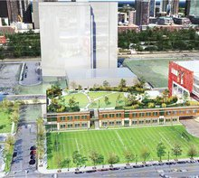 Public Park Proposed for Rooftop of New School at Roosevelt Collection - DNAinfo.com Chicago