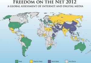 U.S. Ranks Second in Internet Freedom, Behind Estonia