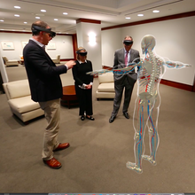 Cleveland Clinic uses hologram technology to bring medical students inside the human body