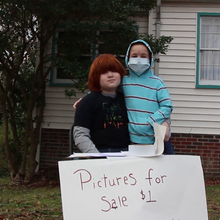 N.C. boy brings joy to gravely ill brother with $1 drawings