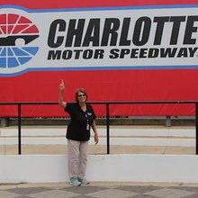 Charlotte Motor Speedway's senior tour guide is still fast & furious