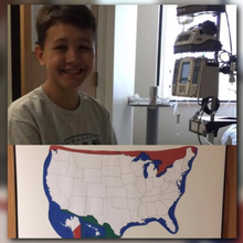 Mom collecting postcards from every state for son with leukemia