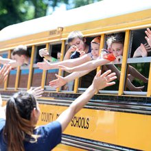 'It's been a fun ride': Students, teachers head home on Yancey Elementary School's last day