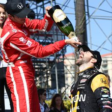 Hinchcliffe victory caps off busy, successful Honda weekend