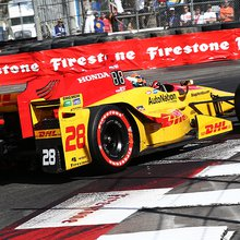 Hunter-Reay, Rossi ready to roll with top-five Long Beach starting spots