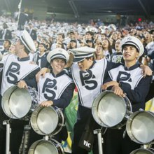 Penn State Blue Band provides the Happy Valley hype