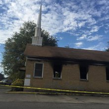 Mississippi church burned, vandalized with 'Vote Trump'
