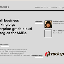 Small business thinking big: Enterprise-grade cloud strategies for SMBs