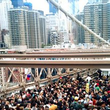 Chaos on the Brooklyn Bridge: A first-person account