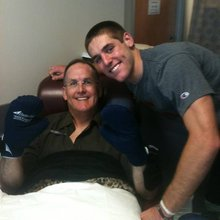 How Trevor Knight's positivity and support helped his father through cancer tr...