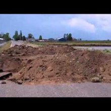 Weber River breaks and floods northern Utah town