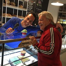 Uncle Louie G Brings Brooklyn Ice Cream, Illy Swirls To Trumbull Green